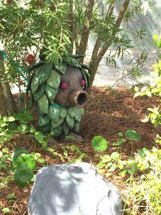 Zelda Deku Scrub garden decoration