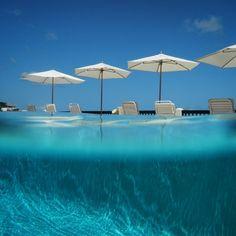 The pool at Blue Waters, #Antigua is calling! #latergram @antiguaandbarbuda
