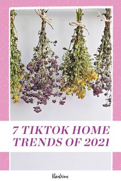 What's popular on TikTok has now spilled over in all areas of our lives, from what we eat (ahem, pancake cereal and feta pasta) to what we wear (RIP, skinny jeans). It makes sense it'd also extend to our houses. Presenting, the top TikTok home trends of 2021. Make Your Own, Make It Yourself, How To Make, Feta Pasta, Pink Tiles, Design Movements, Furniture Sale, Rose Bouquet, Home Decor Trends