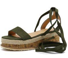 12ab77b55a0e Laced Up Gladiator Platform Sandals – LePastell
