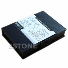 "Anti-Shock Protection Storage Box Case for 3.5""SATA IDE Hard Disk Drive HDD BLACK -R179 Drop Shipping"