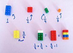Aidez les enfants à faire des Mathématiques avec des Blocs Légo! C'est GÉNIAL! - Brico enfant - Trucs et Bricolages