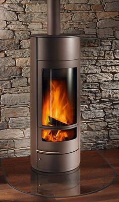 Kaminofen Einbau Fireplace Design, Gas Fireplace, Outside Wood Stove, Corner Stove, 4 Season Room, Log Burner, Brick And Stone, Living Room With Fireplace, Wood Burning