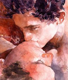 Call me by your name - Art (watercolor) Arte Van Gogh, Name Art, Northern Italy, Your Name, Gay Couple, Call Me, Art Inspo, Art Reference, Photos