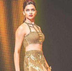 Deepika Padukone during a performance promoting Happy New Year