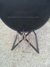 How to Make an Oil Drum BBQ Smoker : 13 Steps (with Pictures) - Instructables Diy Smoker, Homemade Smoker, Oil Drum Bbq, Food Truck Design, Stainless Steel Grill, Coffee Signs, Steel Bar, Smoking Meat