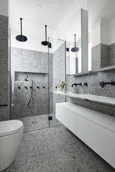 From concept to completion, the award-winning team at smarterBATHROOMS+ are the one stop shop for Bathroom & Kitchen Renovations in Melbourne. Bathroom Design Luxury, Modern Bathroom, Small Bathroom, Bathroom Renovations Melbourne, Bathroom Remodeling Contractors, Sauna Design, Suites, Interiores Design, Bathroom Inspiration