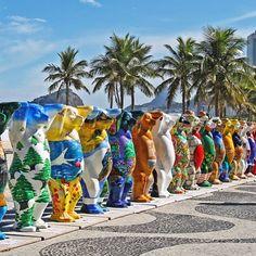 Já viram a invasão de ursos que tomou conta do Rio de Janeiro hoje? Sinalizando…