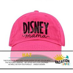 e95e559e866 Disney Mama Hat - Disneyland Baseball Cap Disney Mom - Trendy Disney Fan  Mother s Day Gift - Disney Cruz Hat - Hipster Disney World - Gift