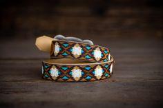 -Southwest X- Custom Beaded Belts by Busted K www.bustedkbeadwork.com