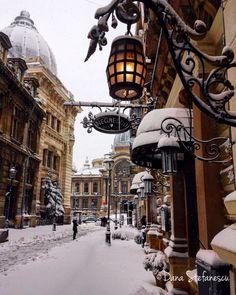 Bucharest snow
