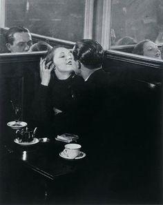 the-randy-dandy:  George Brassai, Paris cafe at night, c. 1920s