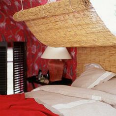 coole Ideen für Bettkopfteile bambus