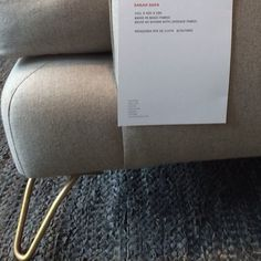 Chaise Lounge Sofa Gold Finger well actually gold feet Sarah Harris and Charlotte sofas e in