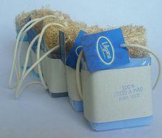 Sabonete com bucha - 02 peças