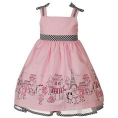 the little catterpillar dress for baby girls   ... baby toddler little girls pink paris dress these dresses available on