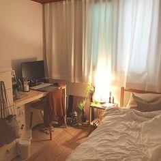 New Apartment Style Dorm Decor Spaces Ideas Small Room Bedroom, Bedroom Decor, Room Interior, Interior Design, Minimalist Room, Aesthetic Room Decor, Cozy Room, Dream Rooms, My New Room