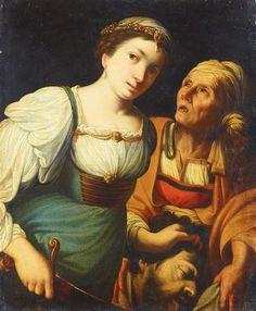 Judith mit dem Haupt des Holofernes; Carlo Saraceni