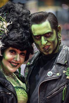 Fifties Munsters #Frankenstein #Cosplay