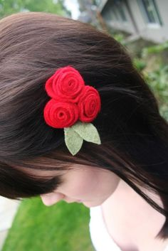 Cute diy hair clips for girls