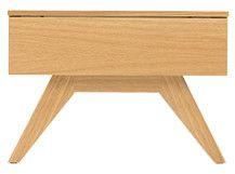 Olsen, table de chevet, chêne