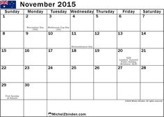 Feel Free to Download Calendar 2015 November and November 2015 Holidays. Nov 2015 Calendar Printable Template, PDF Doc, MS Word, Excel, Page, Notes, Vector.