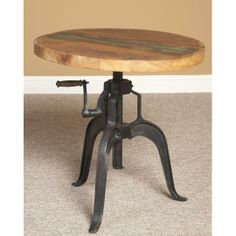 "Largo 30"" Round Adjustable Table"