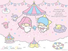 【2012.04】【Strawberry News】Issue 530 wallpaper ★Little Twin Stars★