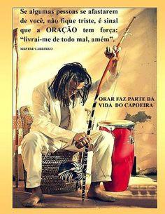 Orar faz parte da vida do capoeira