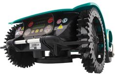 Rear View of the Ambrogio L200 Robot Lawn mower. Available from AutoLawnMow.  To Discover More About The Ambrogio L200 Evolution Model visit  http://www.ambrogiorobot.co.uk