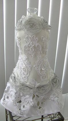 35inc by 12 in wide dress form I created Dress Form, Lace Weddings, Dress Code Clothing, Lace Wedding Dress