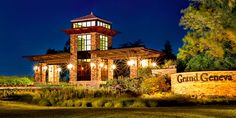 Artquest, Ltd. floral design at the Grand Geneva Resort, Lake Geneva, Wisconsin.