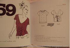 """Bom dia gente!!  Estou a muito tempo procurando o download do livro """"99 formas de Cortar,costurar,franzir e amarrar sua camiseta,transforma..."""