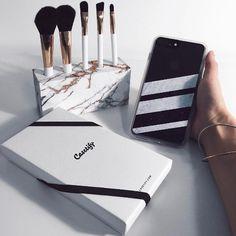 Black Striped Marble - Transparent by Nicklas Gustafsson #iphone #iphone7 #iphone7case #iphonecase #marble #marblecase #case #blackandwhite #striped #stripe #stripes #casetify
