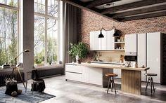 Cuisine moderne de design industriel, photo Tung Le