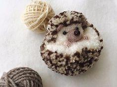 Crazy and wonderful pom pom art by Japanese artist Tsubasa Kuroda Cute Crafts, Kids Crafts, Diy And Crafts, Arts And Crafts, Preschool Crafts, Crochet Projects, Sewing Projects, Craft Projects, Craft Ideas