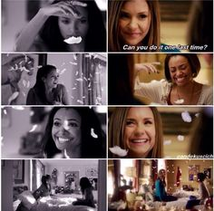 Bonnie+Elena+Feathers - This part was so emotional. Love these two.