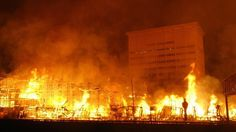 A massive fire broke out in downtown Los Angeles on Dec. destroying an apartment tower that was under construction, damaging two other buildings and leaving freeways and roads closed. Dramatic Photos, See Videos, Downtown Los Angeles, Iowa, Fire, Photo And Video, Wednesday, Connection, Building