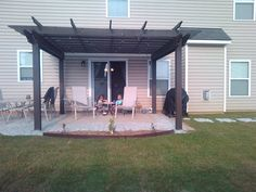 Dwell Your Way......: extending the concrete patio
