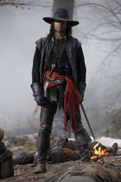 Hugh Jackman as Van Helsing Note: This is James Purefoy from Solomon Kane. Looked it up on 24 Oct 2013.