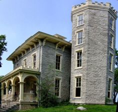 Cooke Castle, Gibraltar Island, Lake Erie. During the summer, the island hosts tours on Wednesdays.
