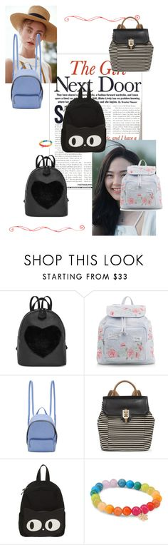"""""""Backpack Attack"""" by supercheerios ❤ liked on Polyvore featuring CHUP, Gaia, New Look, STELLA McCARTNEY, Nine West and Sydney Evan"""