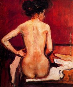 Edvard Munch Nude painting is shipped worldwide,including stretched canvas and framed art.This Edvard Munch Nude painting is available at custom size. Edvard Munch, Gustav Klimt, Figure Painting, Painting & Drawing, Amedeo Modigliani, Manet, Oil Painting Reproductions, Wassily Kandinsky, Claude Monet
