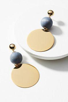 Antique Jewelry Cannes Drop Earrings by anita Leather Jewelry, Jewelry Box, Jewelry Accessories, Jewelry Design, Gemstone Jewelry, Alexandrite Jewelry, Ear Jewelry, Designer Jewelry, Bridal Accessories
