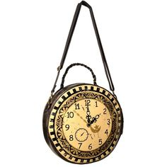 Rock Collection - Vintage Pocket Watch Bag ($29) ❤ liked on Polyvore featuring bags, handbags, purses, accessories, vintage purse, rock purses, vintage bag, rock bag and rock handbags