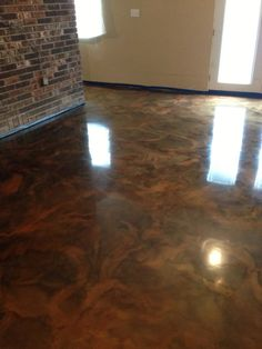 Metallic Epoxy Floor, Lafayette LA. Repin Click For More Info or Quote @ Your Home / Business