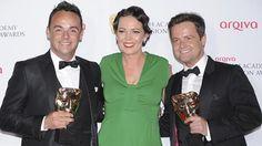#anbtanddec @Ant Dec View a gallery of all of tonight's @arqiva #BAFTATV winners: http://awards.bafta.org/photos/2014/television/winners… pic.twitter.com/TZm36cALhd