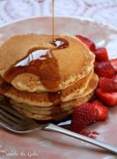 PECADO DA GULA: Panquecas americanas para o café da manhã!