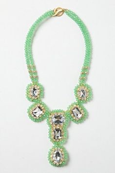 Make a statement with this Everjade Necklace | Anthropologie.eu