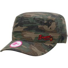 Women's Atlanta Braves New Era Camo Fever Military Adjustable Hat ,Today's Sale Price: $17.99 - You Save: $8.00
